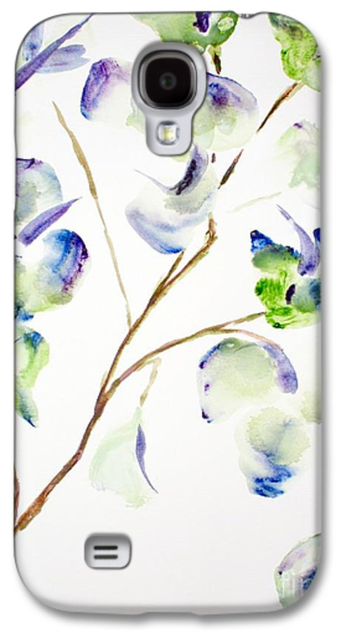 Flower Galaxy S4 Case featuring the painting Flower by Shelley Jones