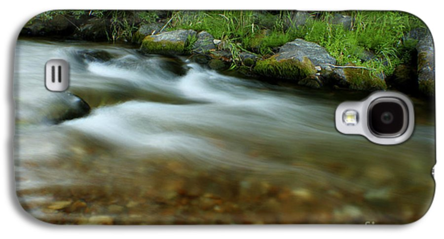 River Galaxy S4 Case featuring the photograph Flowing by Idaho Scenic Images Linda Lantzy