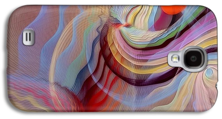 Fractal Galaxy S4 Case featuring the digital art Form Accepted In The Heart by Gayle Odsather