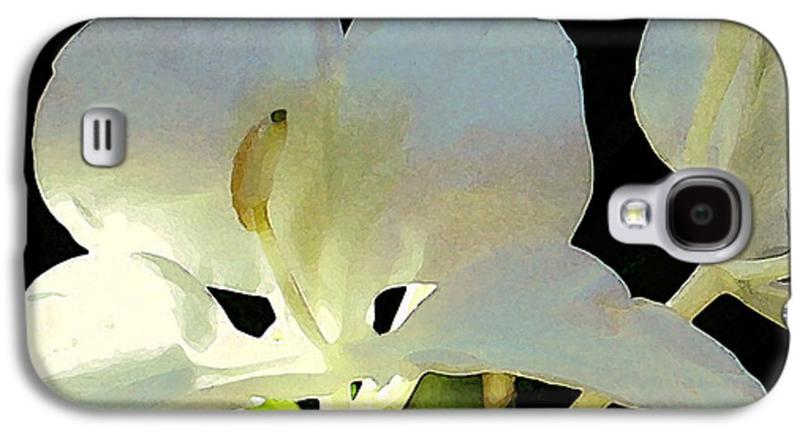 Ginger Galaxy S4 Case featuring the photograph Fragrant White Ginger by James Temple