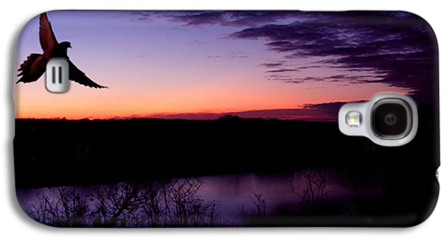Dove Galaxy S4 Case featuring the photograph Free by Kenneth Krolikowski