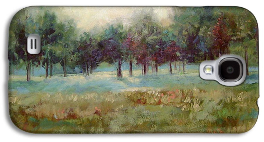 Country Scenes Galaxy S4 Case featuring the painting From The Other Side by Ginger Concepcion