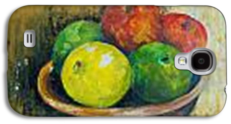 Apples And Oranges Galaxy S4 Case featuring the painting Frutas by Carol P Kingsley