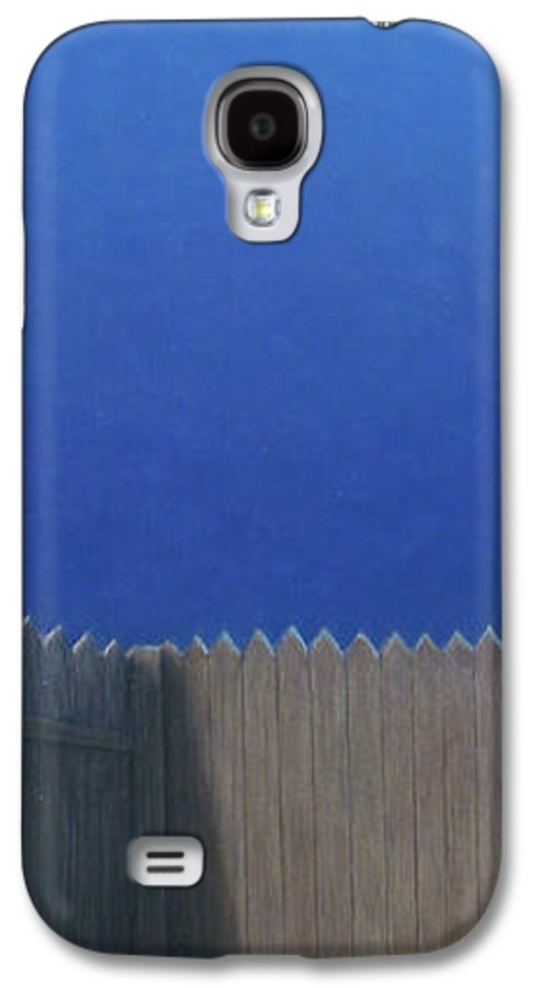 Puppy Galaxy S4 Case featuring the painting Full Moon by James W Johnson