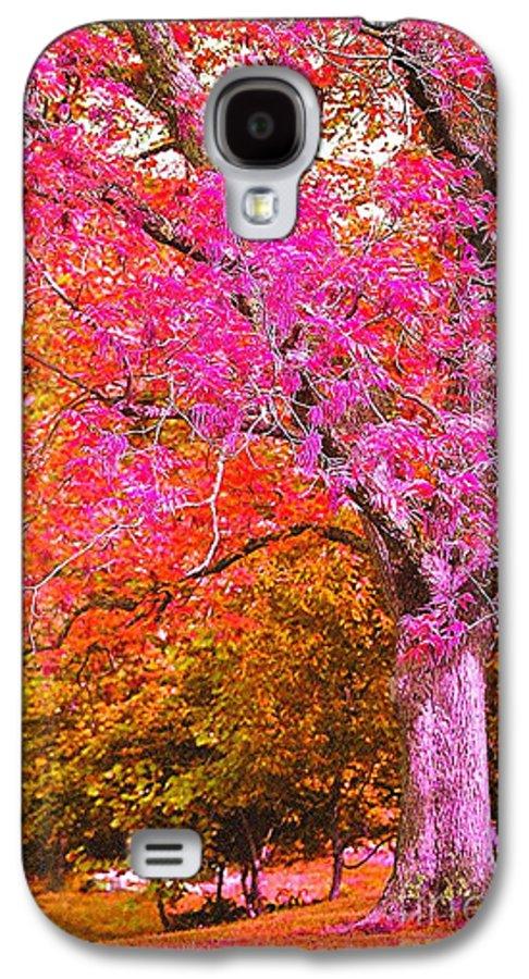 Fuschia Galaxy S4 Case featuring the photograph Fuschia Tree by Nadine Rippelmeyer