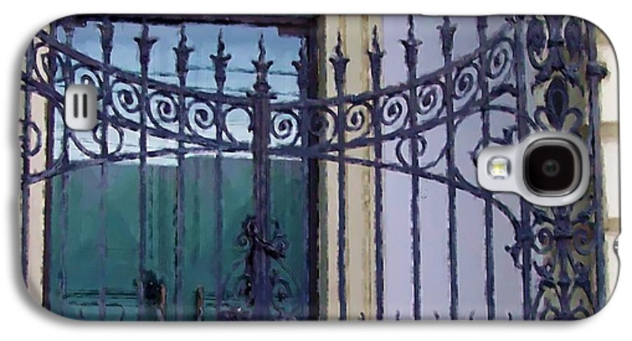 Gate Galaxy S4 Case featuring the photograph Gated by Debbi Granruth