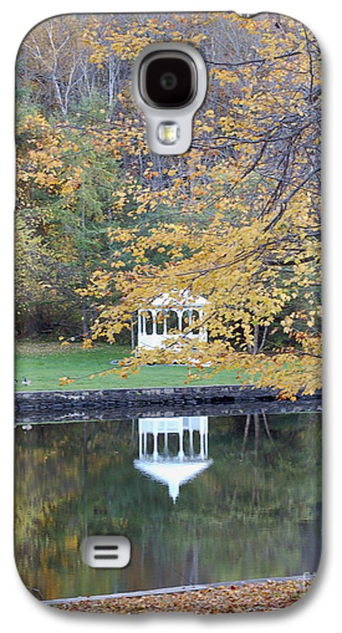 Gazebo Galaxy S4 Case featuring the photograph Gazebo Reflection by Faith Harron Boudreau