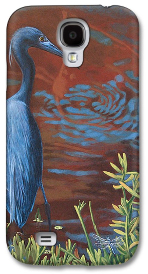 Painting Galaxy S4 Case featuring the painting Gazing Intently by Peter Muzyka