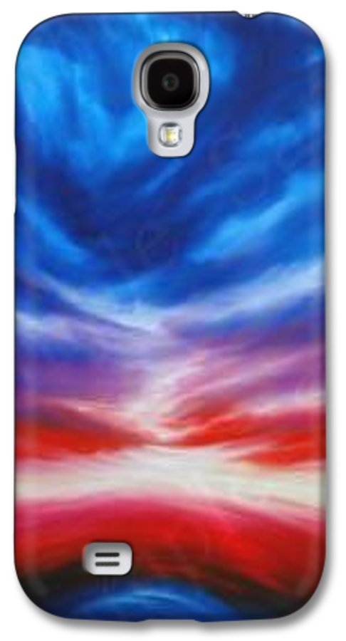 Tempest Galaxy S4 Case featuring the painting Genesis IIi by James Christopher Hill