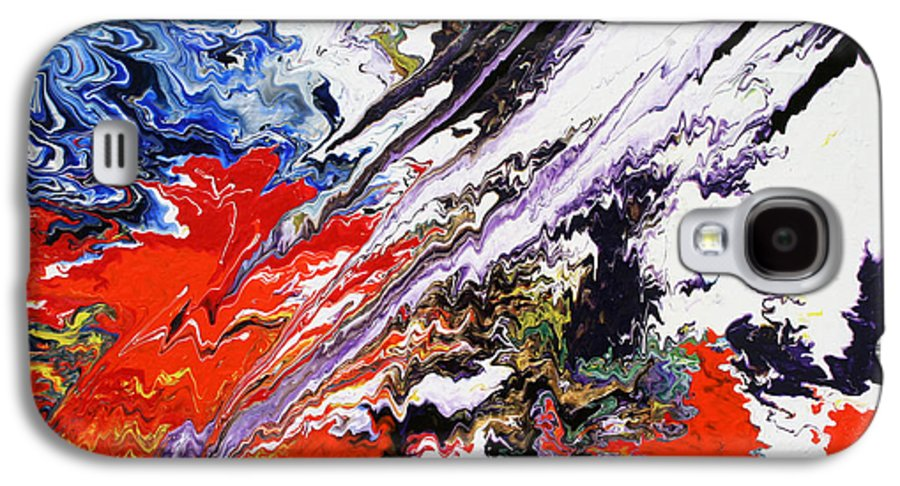 Fusionart Galaxy S4 Case featuring the painting Genesis by Ralph White