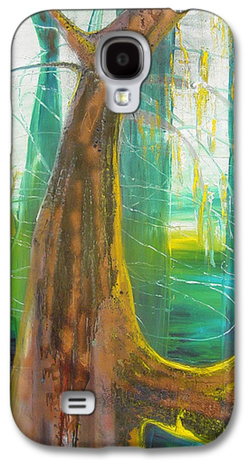 Landscape Galaxy S4 Case featuring the painting Georgia Morning by Peggy Blood