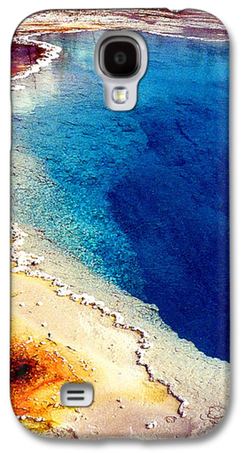 Geyser Galaxy S4 Case featuring the photograph Geyser Basin by Nancy Mueller