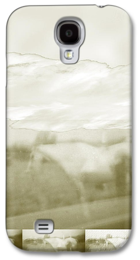 Colorado Galaxy S4 Case featuring the digital art Ghost Horse Colorado by Ann Tracy