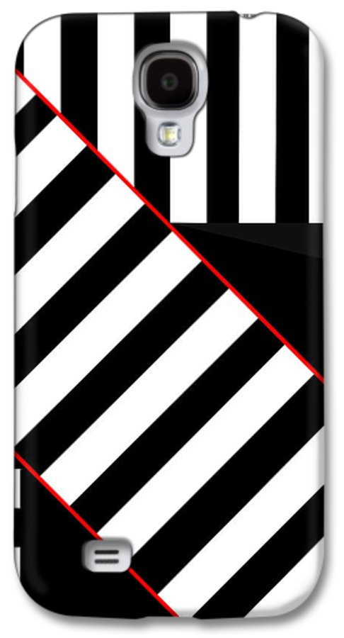 Galaxy S4 Case featuring the digital art Ginza The Babel Legend by Asbjorn Lonvig