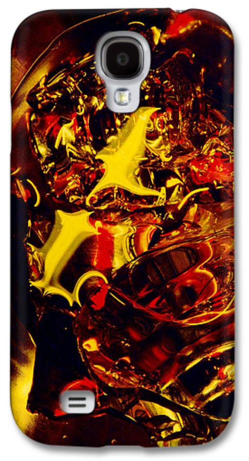 Abstract Galaxy S4 Case featuring the photograph Glassman by David Rivas
