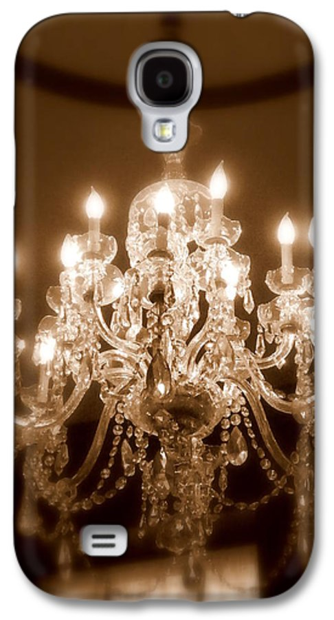 Chandelier Galaxy S4 Case featuring the photograph Glow From The Past by Karen Wiles