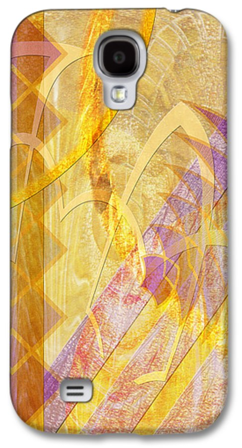 Gold Fusion Galaxy S4 Case featuring the digital art Gold Fusion by John Beck