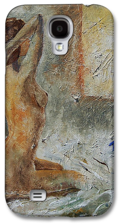 Nude Galaxy S4 Case featuring the painting Good Morning Sunshine by Pol Ledent