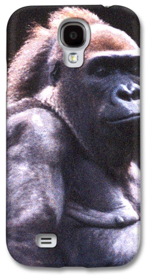 Gorilla Galaxy S4 Case featuring the photograph Gorilla by Steve Karol