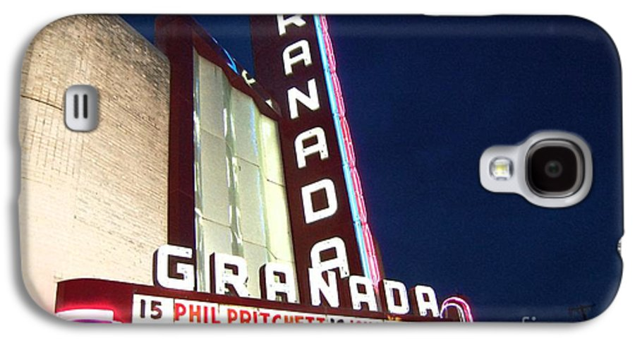 Music Galaxy S4 Case featuring the photograph Granada Theater by Debbi Granruth