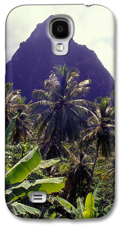 Caribbean Galaxy S4 Case featuring the photograph Grand Piton by Carl Purcell
