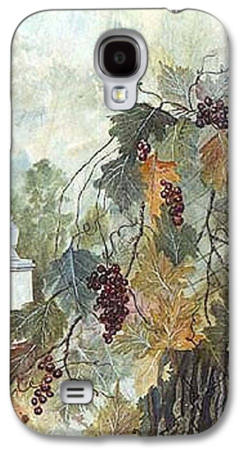 Fruit Galaxy S4 Case featuring the painting Grapevine Topiary by Ben Kiger