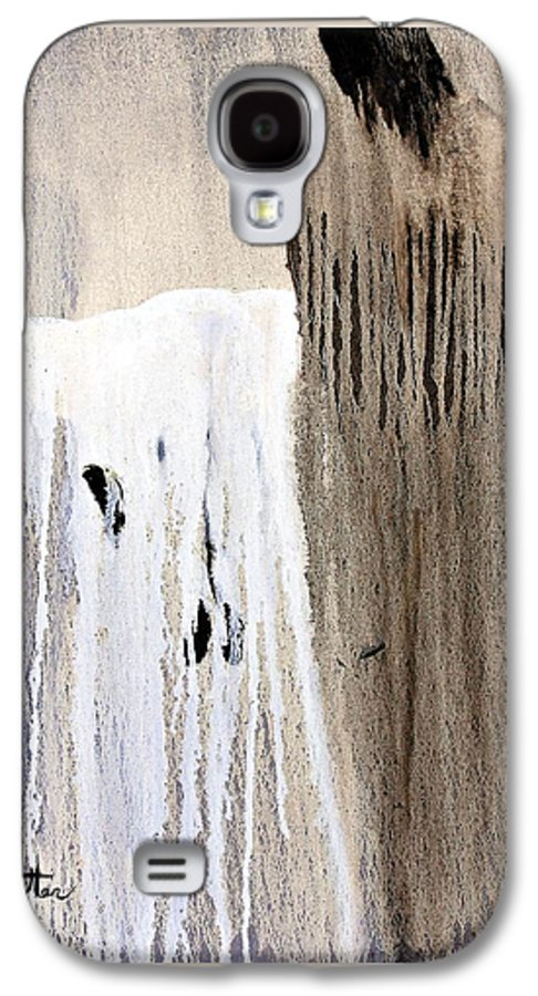 Native American Galaxy S4 Case featuring the painting Great Spirit by Patrick Trotter