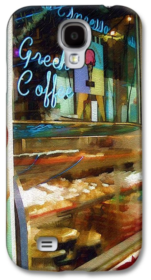 Greek Galaxy S4 Case featuring the photograph Greek Coffee by Sandy MacGowan