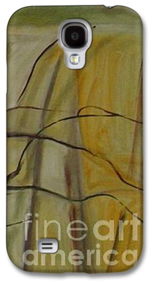Spring Young Trees Saplings Trees Galaxy S4 Case featuring the painting Green Sonnet by Leila Atkinson