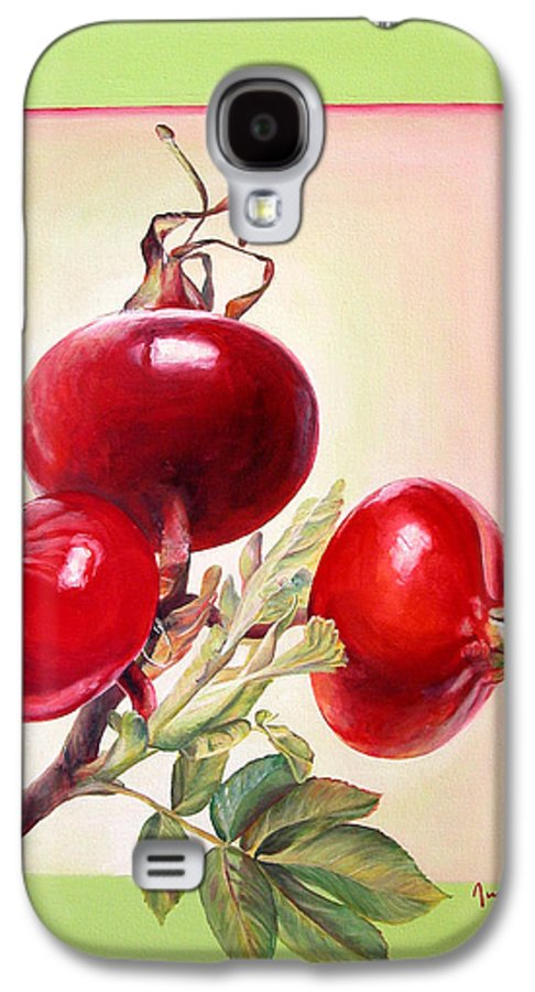 Still Life Galaxy S4 Case featuring the painting Grenadine by Muriel Dolemieux