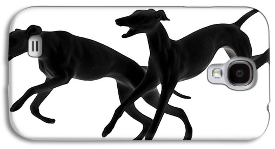 Greyhounds Galaxy S4 Case featuring the photograph Greyhounds Travelling At 45 Mph by Christine Till