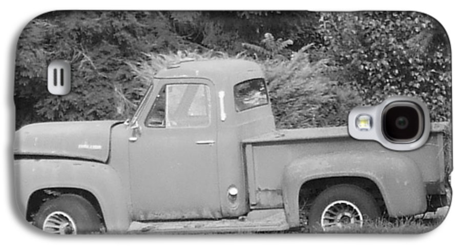 Truck Galaxy S4 Case featuring the photograph Grounded Pickup by Pharris Art