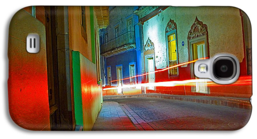 Shadow Galaxy S4 Case featuring the photograph Guanajuato Night by Skip Hunt