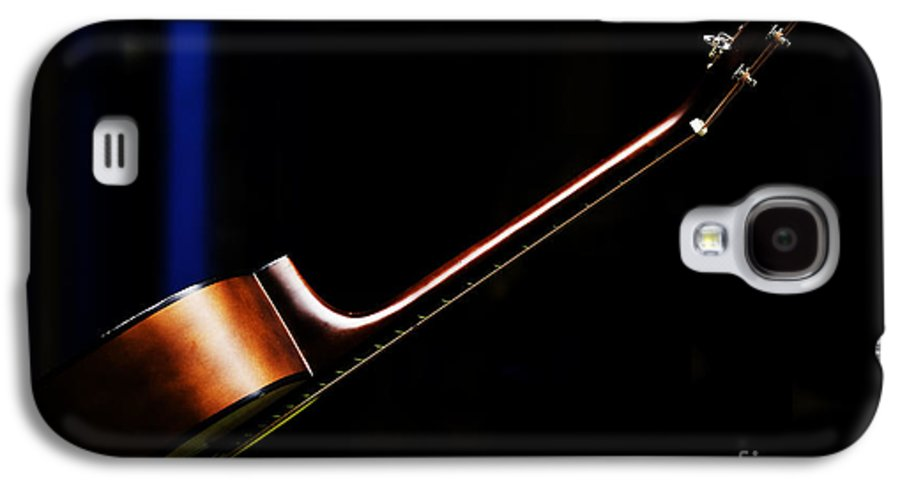 Guitar Galaxy S4 Case featuring the photograph Guitar by Sheila Smart Fine Art Photography
