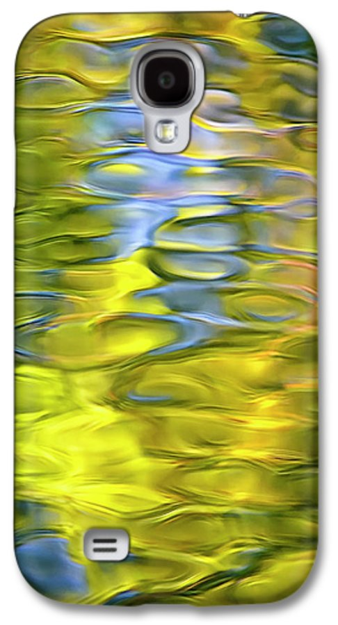 Abstract Galaxy S4 Case featuring the photograph Harvest Gold Mosaic by Christina Rollo