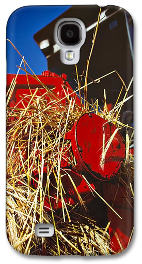 Combine Galaxy S4 Case featuring the photograph Harvesting by Meirion Matthias