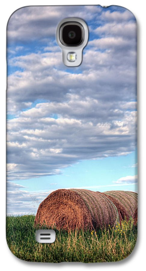 Hay Galaxy S4 Case featuring the photograph Hay It's Art by JC Findley