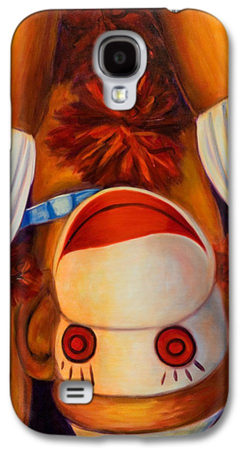 Children Galaxy S4 Case featuring the painting Head-over-heels by Shannon Grissom