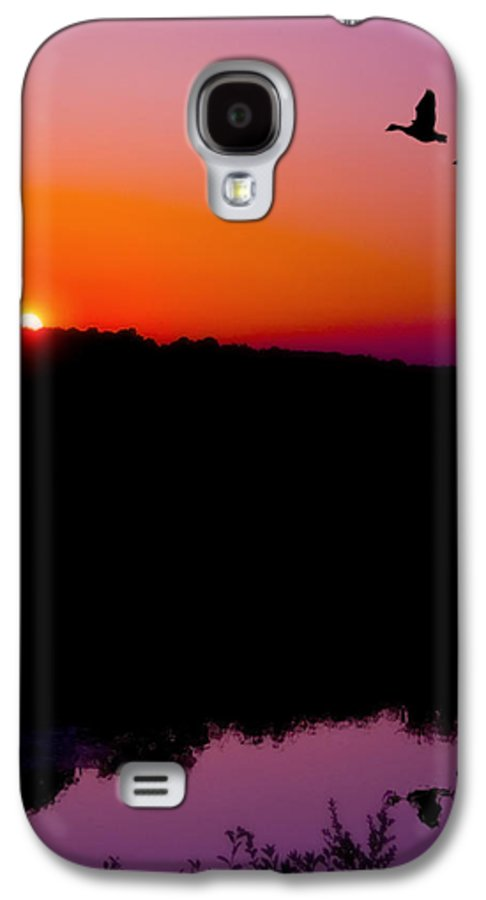 Sunset Galaxy S4 Case featuring the photograph Heading Home by Kenneth Krolikowski
