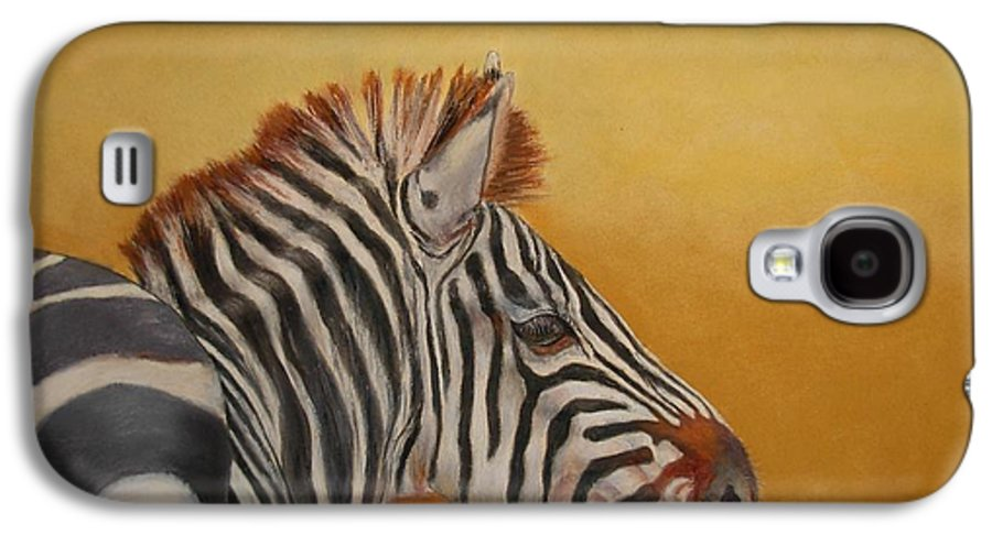 Africa Galaxy S4 Case featuring the painting Hello Africa by Ceci Watson