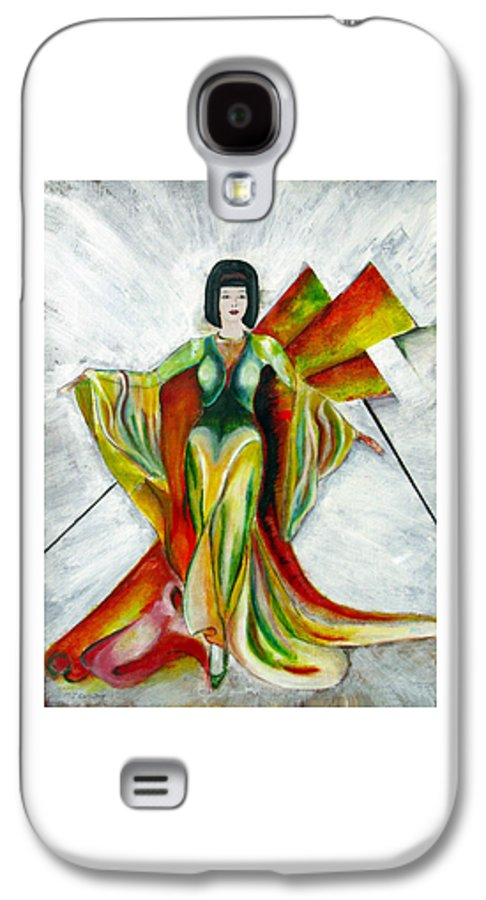 Dress Galaxy S4 Case featuring the painting Here Comes The Sun by Tom Conway