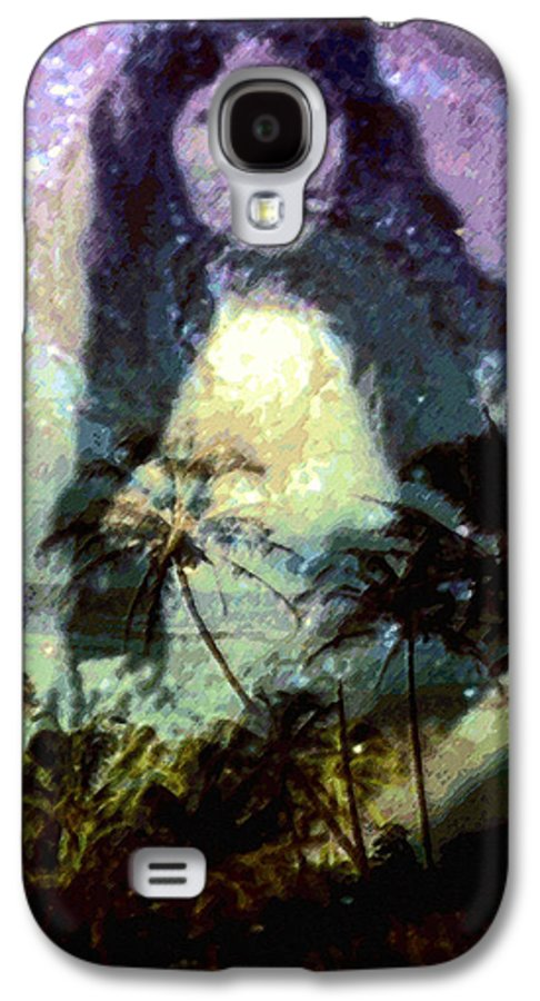 Tropical Interior Design Galaxy S4 Case featuring the photograph Ho Omana O by Kenneth Grzesik