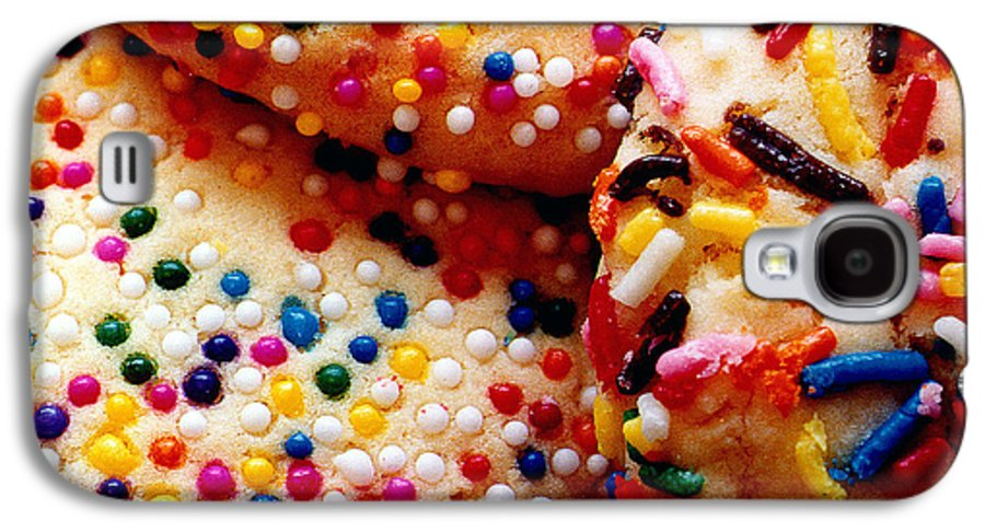 Cookie Galaxy S4 Case featuring the photograph Holiday Cookies by Nancy Mueller