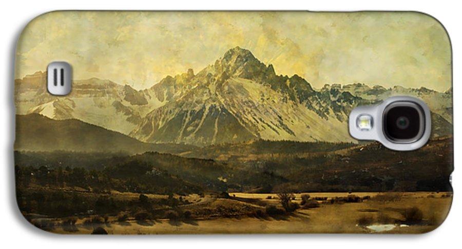 Brett Galaxy S4 Case featuring the digital art Home Series - The Grandeur by Brett Pfister