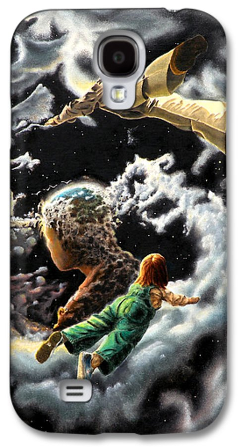 Fantasy Galaxy S4 Case featuring the painting Homecoming by Dave Martsolf