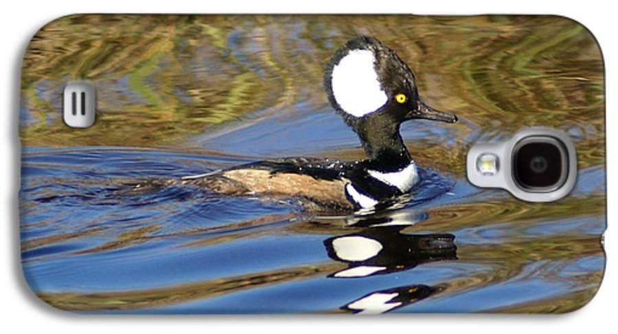 Duck Galaxy S4 Case featuring the photograph Hooded Mersanger by Debbie May