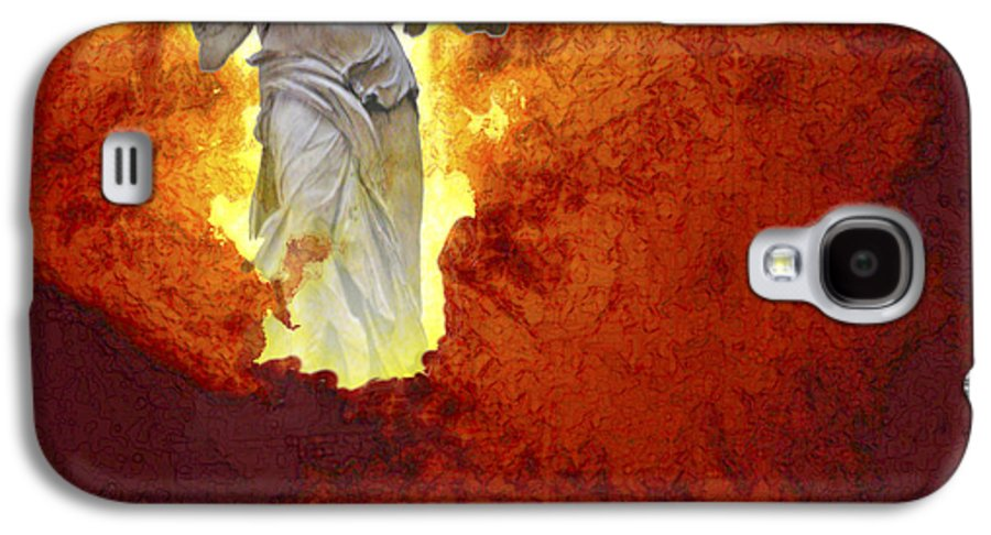 Painting Galaxy S4 Case featuring the painting Hope by Ann Tracy