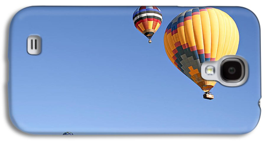 Balloons Galaxy S4 Case featuring the photograph Hot Air Balloon Ride A Special Adventure by Christine Till