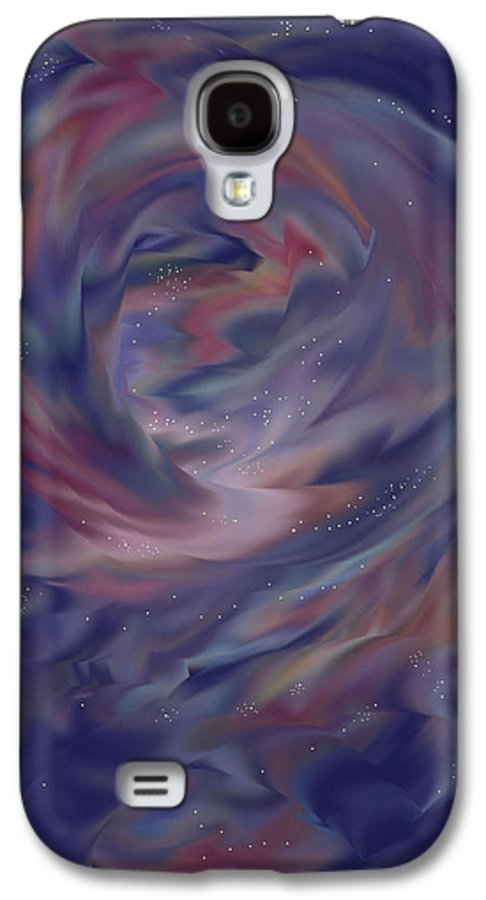 Starscape Galaxy S4 Case featuring the painting Hubble One by Anne Norskog