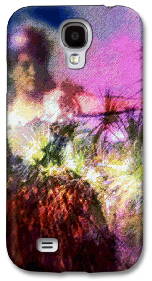 Tropical Interior Design Galaxy S4 Case featuring the photograph Hula Mai Oe by Kenneth Grzesik